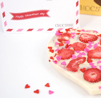 happy valentijn chocolade laten bezorgen