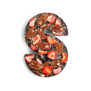 luxe chocoladeletter bestellen - Sinterklaas chocolade
