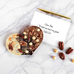 Chocolade cadeau valentijn voor hem