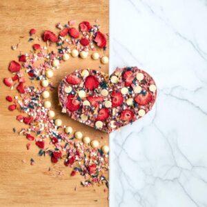 Ruby chocolade hart Chocstar