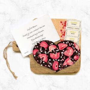 Chocolade hart Moederdag Mama is de beste