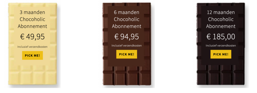 chocolade abonnement chocstar