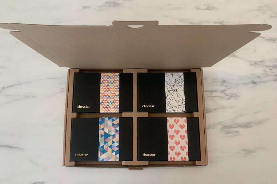 Eenvoudig chocolade versturen door de brievenbus