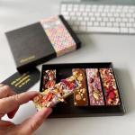 Chocolade (feestjes) door de brievenbus