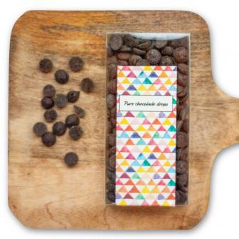 Pure chocolade drops
