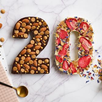 Chocolade cijfer 20