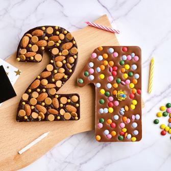 Chocolade cijfer 21