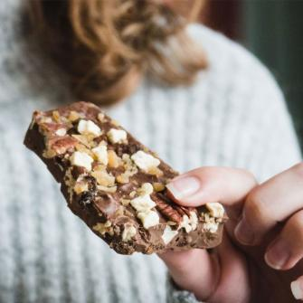 Eerlijke melkchocolade