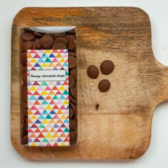 Honing chocolade drops