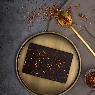 Eerlijke pure chocolade