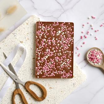 Hiep Hiep Chocola.. met roze muisjes!