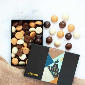 Luxe Kruidnoten - Melk-, Puur- en Witte chocolade