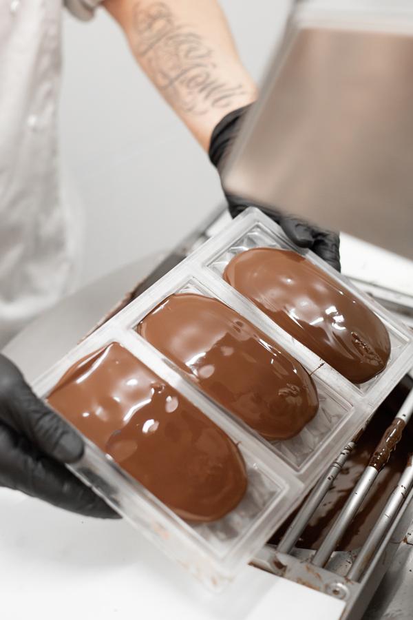 Handgemaakt chocolade