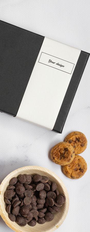 Te personaliseren wikkel voor jouw giftbox