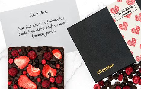 Originele chocolade bestellen om iemand mee te verrassen op afstand